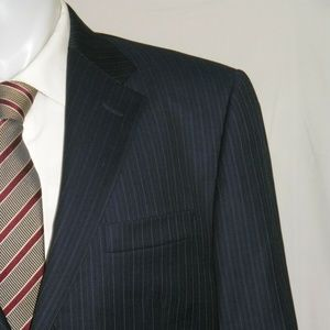 Hickey Freeman Lindsey Two Button Flat Front Suit